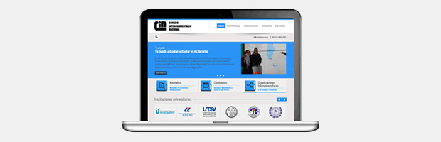 Nuevo sitio web del CIN