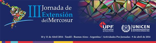 III Jornadas de Extensión del Mercosur