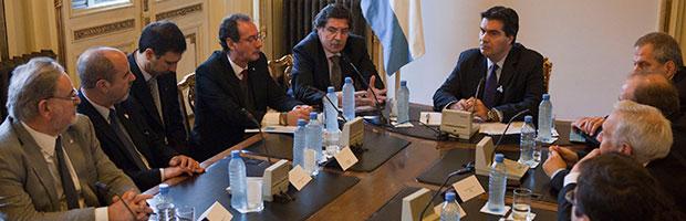 Reunión en Jefatura de Gabinete de Ministros