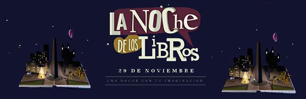 Noche de los Libros 2014 en la LUA. Imágenes