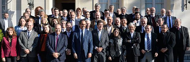 Comité Ejecutivo y almuerzo con el gobernador de la provincia de Buenos Aires