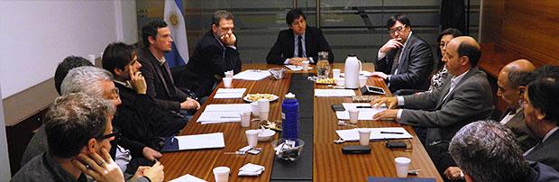 Reunión de trabajo en el MINCyT