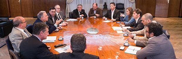 Reunión de trabajo con el ministro de Economía