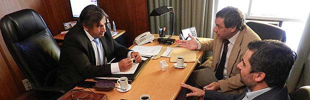 Reunión con el representante académico en el Consejo de la Magistratura