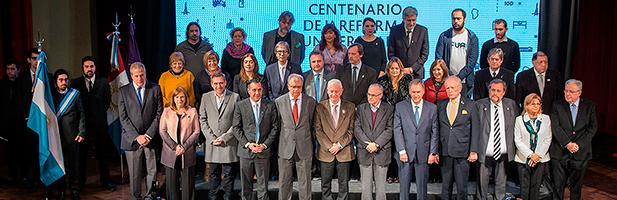 Conmemoración del centenario de la Reforma Universitaria del 18