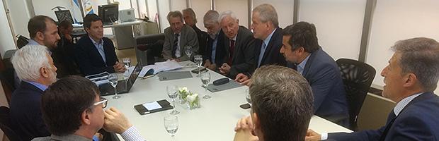 Rectores con la Comisión de Presupuesto de Diputados