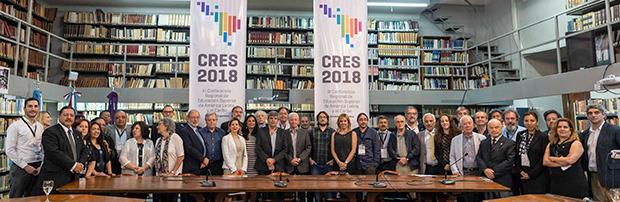 Reunión de trabajo hacia el plan de acción de la CRES 2018