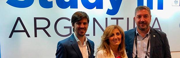 Delegación argentina en la conferencia NAFSA