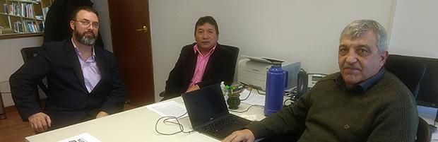 Docentes de la Universidad del Chubut visitaron el CIN