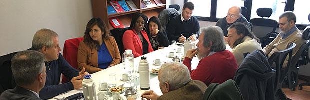Encuentro con candidatas a congresistas de EEUU