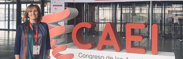 La vicepresidenta del CIN participa del CAEI 2019 en Colombia