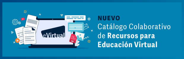 Catálogo colaborativo de recursos para las clases virtuales