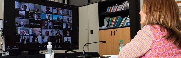 Sesionó de manera virtual el 83° Plenario de Rectoras y Rectores