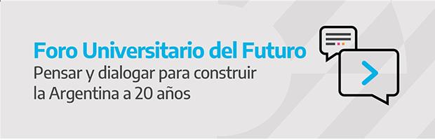 Foro Universitario del Futuro. Agenda de actividades