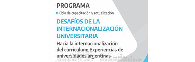 Hacia la internacionalización del currículum: experiencias de universidades argentinas