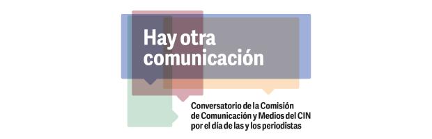 Conversatorio de la Comisión de Comunicación y Medios por el día de las y los periodistas
