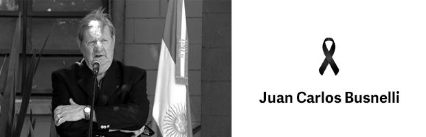 Condolencias por el deceso del Dr. Juan Carlos Busnelli